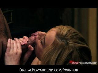 Hot & Horny Blonde Slut Judge Kayden Kross Fucks Lawyer In Office