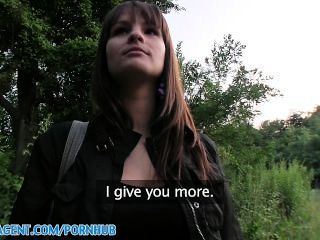 Publicagent Hd Rita And Her Big Bouncing Boobs Fucking In Public Place