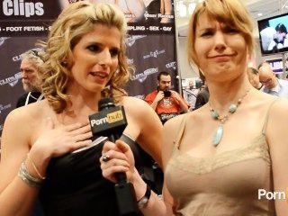 Pornhubtv Cory Chase And Misty Stone Interviews At 2013 Avn Awards