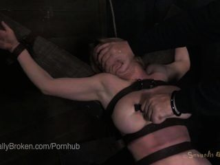 Penthouse Pet Chanel Preston Fucked Roughly In Bondage On A Bed