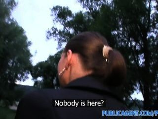 Publicagent Moneka Is Fucked For Punishment On The Golf Course