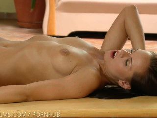 Nubile Films - Lesbian Passion Leads To Trembling Orgasm