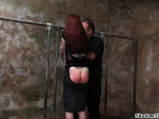 Barn Slaves Outdoor Domination And Harsh Breast Whipping Of Submissive Sach