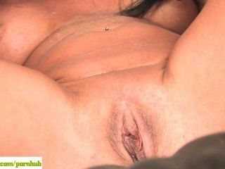 Older Wife Susie Toying Her Mature Pussy