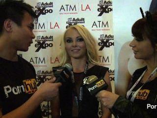 Pornhubtv Aaliyah Love Interview At 2014 Avn Awards