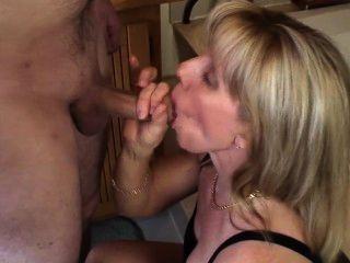 Guy Cums Twice During A Blow-job