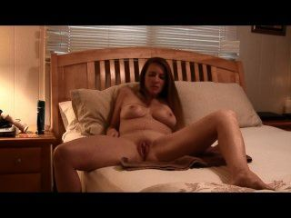 Step-mommy Masturbates While Giving Joi To Her Little Man
