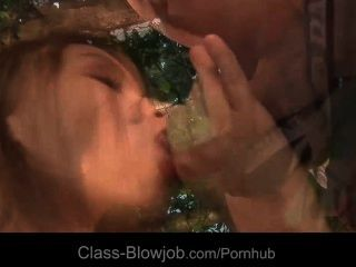 Lucky Dick Double Sucked By Lovely Hotties