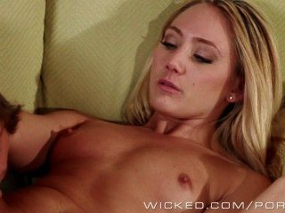 Hot Young Blonde Aj Loves Big Dick