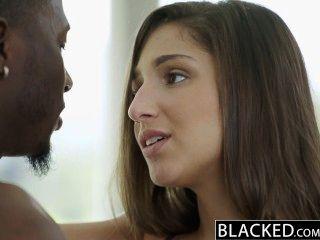 Blacked Big Booty Girl Abella Danger Worships Big Black Cock