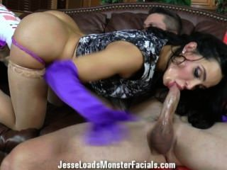 Amy Anderssen Is A Spoiled Little Girl. Spoiled On A Hard Cock That Is.
