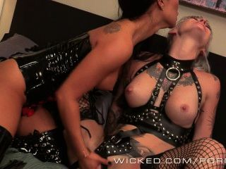 Wicked - Akira And Valentien Play With Their New Toys