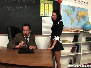 Kinky Schoolgirl Fucked By Teacher!