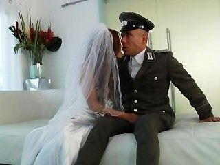 Bride Gets Fucked By A Soldier