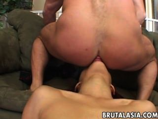 Ravishing Asian Gal Enjoys Smutty Group Sex