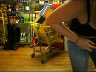 Girl Working At Shop Masturbating Got Caught