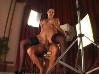 Milf Fucks The Camera Man During Her Lingerie Photoshoot