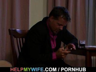 Sexy Wife Rides Random Cock