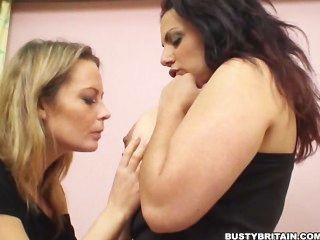 Alexis May & Mellie D Girly Fun
