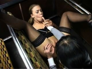 Donna Marie Fucks Bus Conductor