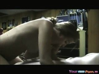College Student Fucks Her Army Bf