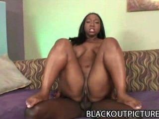 Tiffany Stacks: Black Bbw Lady And The Big Black Dong