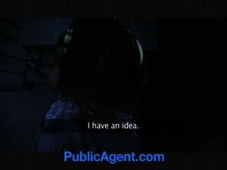 Public Agent Hot Black Babe Needs White Cock