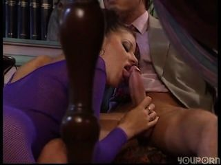 Two Girls In Fishnets Get Fucked