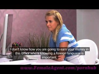 Femaleagent. Let Me Show You How To Pleasure A Woman