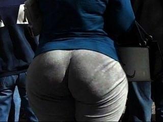 Arab Street Voyeur - Big Butt Candid - Spying Mature Ass (part 3)