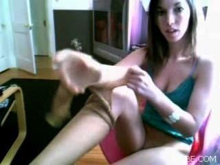 Pantyhouse Webcam Teen Amateur Homemade Skype