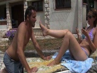 French Feet Femdom Like Slave