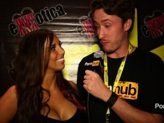 Pornhubtv Sydney Leathers Interview At Exxxotica 2014 Atlantic City