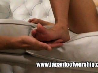 Japanese Foot Worship 16