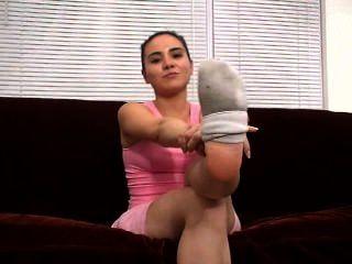 Sweaty Socks And Feet Pov