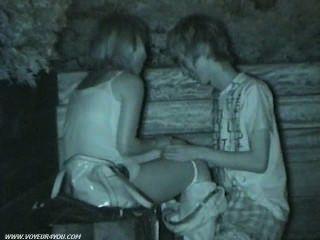Public Park Sex Caught On Hidden Cam