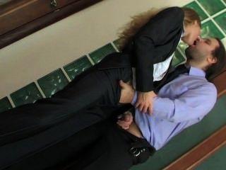 Russian Office Beauty Secretary