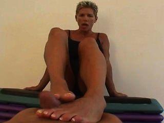 Goddess Heather - Pov Footjob