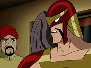 Wonder Woman Kissing Batman