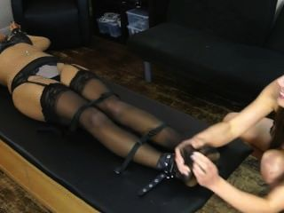 Zoe Gives Ruby A Mean Tickle Workout - F/f, Brunettes Can Be Pretty Evil!