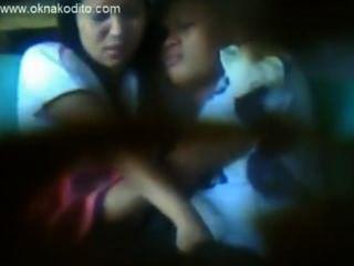 Amateur Teen Sex Caught On Hidden Spy Camera