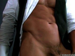 Cody Cummings Hot Solo Masturbation