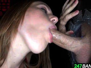 Lizzie Tucker Sucks And Fucks Dick At Gloryhole_2.1