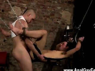 Hot Gay Sex Face Fucked With A Cummy Cock
