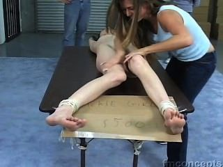 Hot Woman Gets Tickled!!!