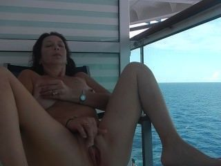Nude Cruise Sex On Balcony