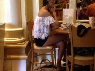 Naughty Perv Spying On Sexy Milf