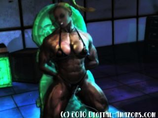 3d Muscle Babe