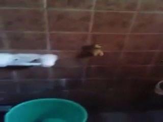Indian - Mallu Bbw In Bathroom Recording By Her Lesbian Friend