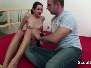 Step-brother Seduce German Step-sister And Fuck Her